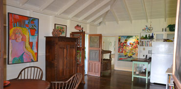 Soursop Lane, Main House, Interior Dining and Kitchen