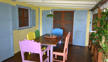 Soursop Lane, Main House, Outdoor Dining